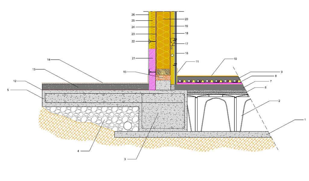 costruzione casa in legno a telaio